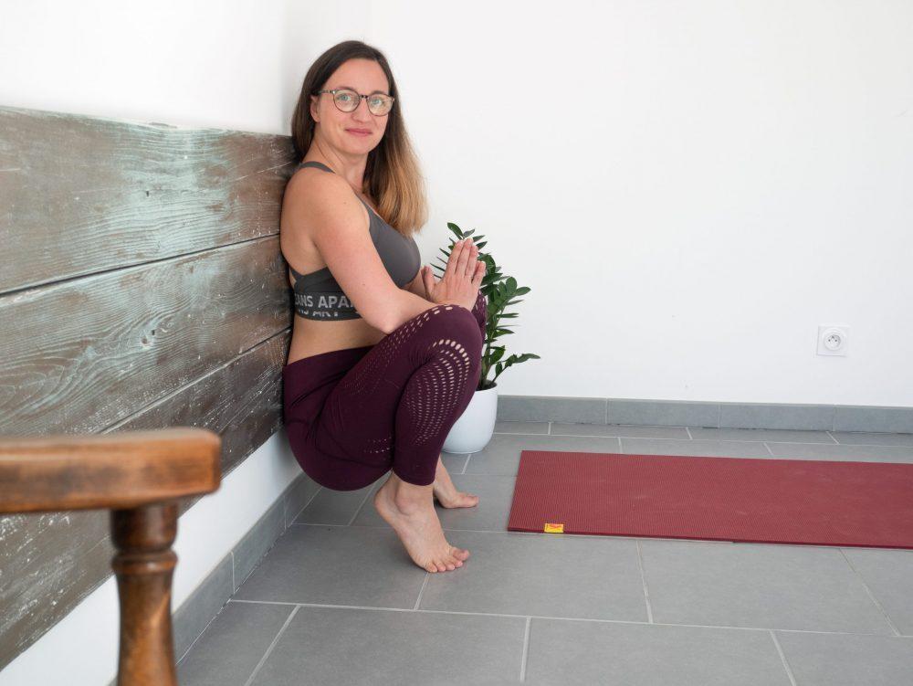 Lena professeur de yoga pré et post natal